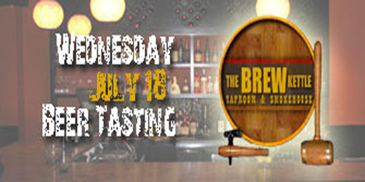 July Beer Tasting: Brew Kettle