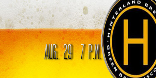 Hinterland Brewery | August Beer Tasting