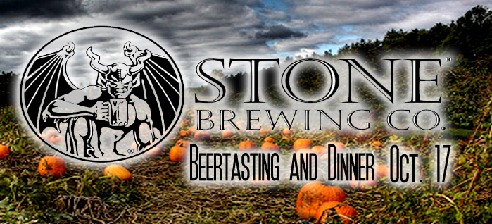 Stone Brewing Co. | October Beertasting & Dinner