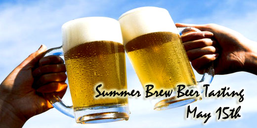 Summer Brew Beer Tasting | May Beer Tasting