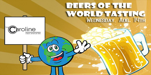 August Beertasting | Beers of the World Tasting