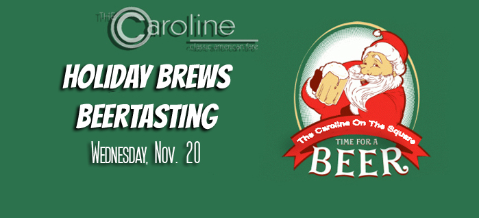 November Beertasting | Holiday Brews Beertasting