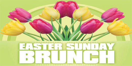 Our Easter Brunch: Sunday, April 20th