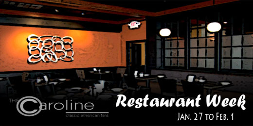Restaurant Week Menu: Jan 27 through Feb 1