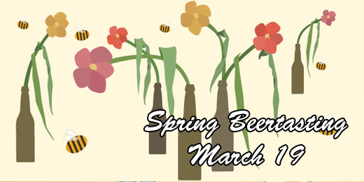 March Beertasting | Spring is Almost Here!!!