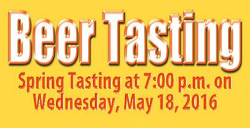 Spring Beer Tasting | May 18th