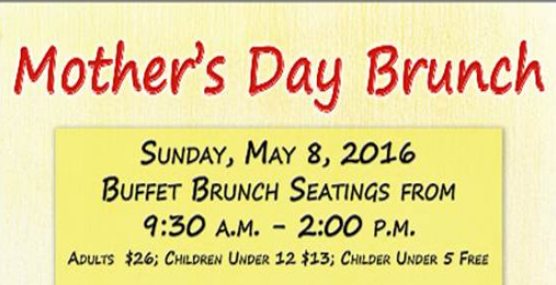 Mother's Day Brunch | Sunday, May 8th