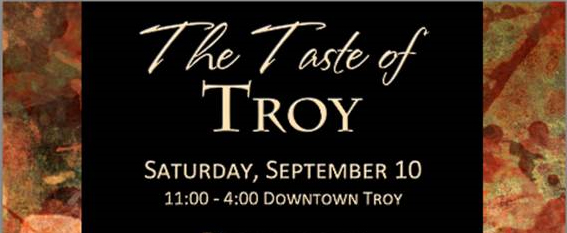The Caroline will be at The Taste of Troy on September 10th!