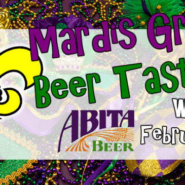 Mardis Gras Beer Tasting | February 22nd