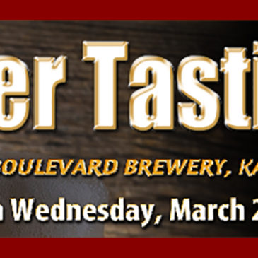 Boulevard Brewery Beer Tasting | March 29th