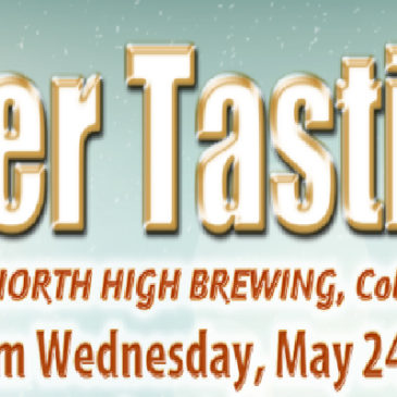 North High Brewing Co. Beer Tasting | May 24th, 2017