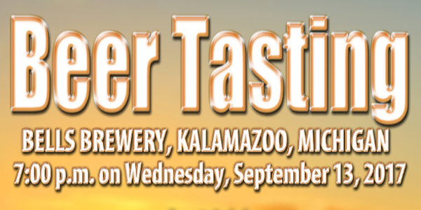 Bells Brewery Beer Tasting | September 13th 2017