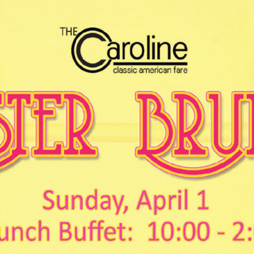 2018 Easter Brunch | Sunday April 1st