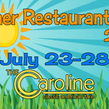 Summer Restaurant Week 2018 is July 23rd – 28th