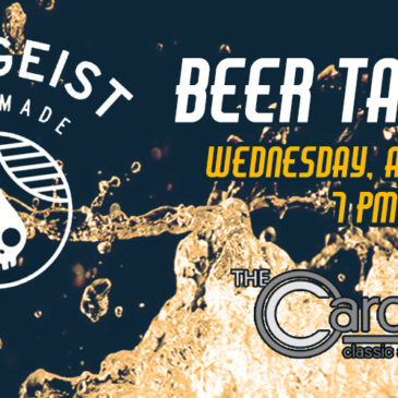 Rhinegeist Brewery Beer Tasting | Wednesday, August 15