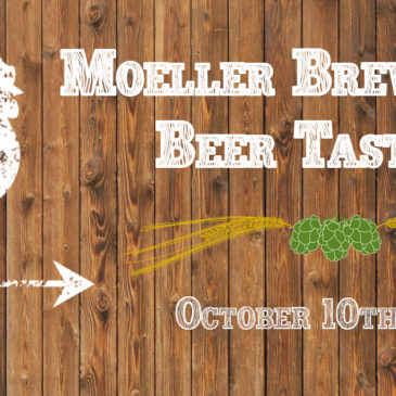 Moeller Brew Barn Beer Tasting | October 10th at 7 pm