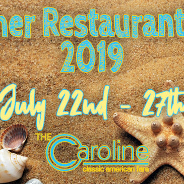 2019 Summer Restaurant Week Menu | July 22nd – July 27th