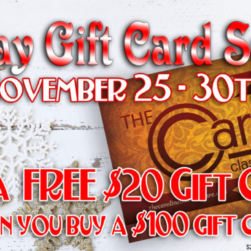 2019 Holiday Gift Card Special | 11/25-11/30