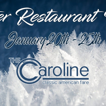 Winter Restaurant Week is Here! | January 20-25