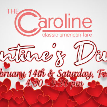 Valentine's Dinner | Feb 14th and 15th