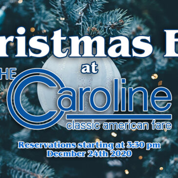 Christmas Eve at The Caroline | December 24th 2020