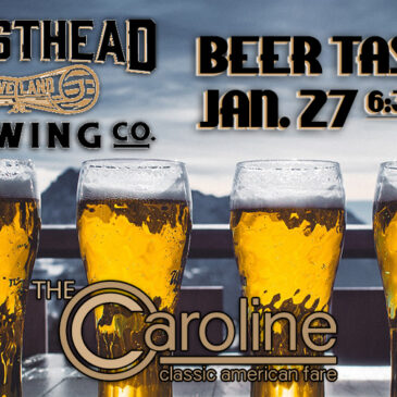 Masthead Brewery Beer Tasting | January 27 6:30pm